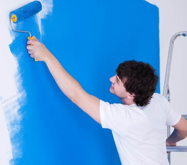 Как-красить-стены-валиком-1