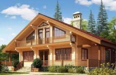 Пошаговое строительство дома из клееного бруса