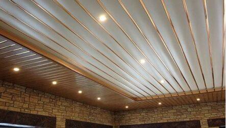 Реечный потолок, его особенности, виды и монтаж