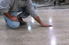 Как отполировать бетон своими руками