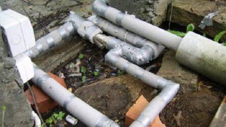 Как утеплить водопровод на улице