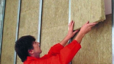 Как утеплить стены из гипсокартона